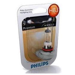 """Лампа накаливания"""" Premium HB3"""" 12В 60Вт (Philips) 9005PRB1"""