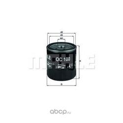 Масляный фильтр (Mahle/Knecht) OC100