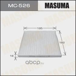 Фильтр салонный (Masuma) MC526E
