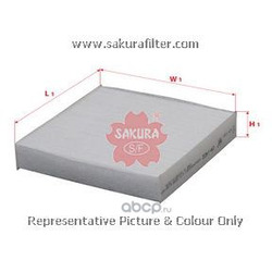 Фильтр салона (Sakura) CA1402