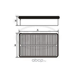 Воздушный фильтр (SCT) SB2223