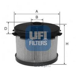 Топливный фильтр (UFI) 2668800