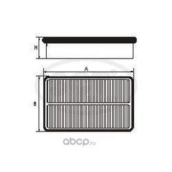 Воздушный фильтр (SCT) SB2232