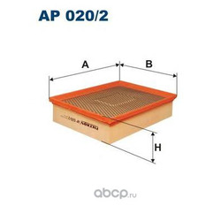 Фильтр воздушный Filtron (Filtron) AP0202