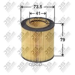 Фильтр масляный элемент (JS Asakashi) OE0053
