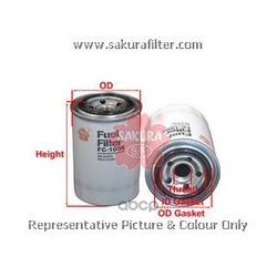 Фильтр топливный (Sakura) FC1006