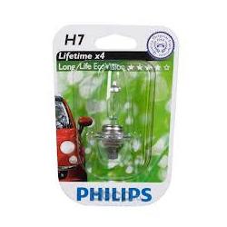 Лампочка галогенная 12V-55W H7 (Philips) 12972LLECOB1
