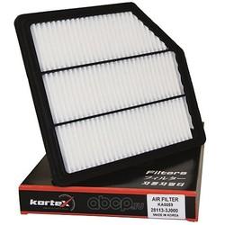 Фильтр воздушный HYUNDAI IX55 08- TCI (KORTEX) KA0059
