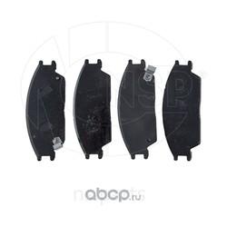 Колодки тормозные передние HYUNDAI Accent (NSP) NSP025810125A00
