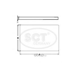 Фильтр салона (SCT) SA1235