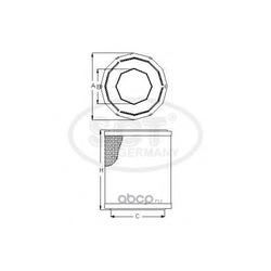 Воздушный фильтр (SCT) SB2153
