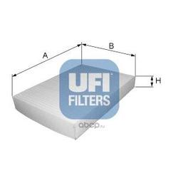 Фильтр, воздух во внутренном пространстве (UFI) 5312900