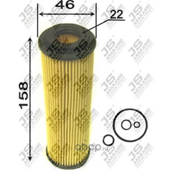 Фильтр масляный элемент (JS Asakashi) OE0021