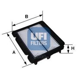 Воздушный фильтр (UFI) 3027900