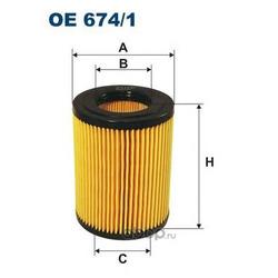 Фильтр масляный Filtron (Filtron) OE6741
