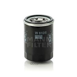 Фильтр масляный двигателя (MANN-FILTER) W6106
