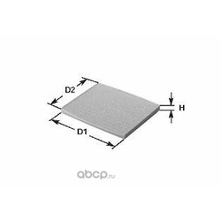 Фильтр, воздух во внутреннем пространстве (Clean filters) NC2206