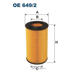 Фильтр масляный Filtron (Filtron) OE6492