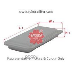 Фильтр воздушный (Sakura) A1180