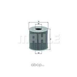 Масляный фильтр (Mahle/Knecht) OX3392D