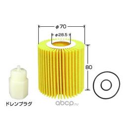 Масляный фильтр (VIC) O116