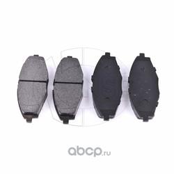 Колодки тормозные передние DAEWOO Matiz (NSP) NSP0196316582