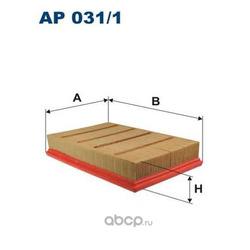 Фильтр воздушный AP031/1 (Filtron) AP0311