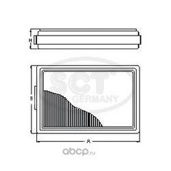 Салонный фильтр (SCT) SA1104