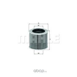 Масляный фильтр (Mahle/Knecht) OX416D1
