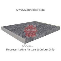 Фильтр салона угольный (Sakura) CAC28150