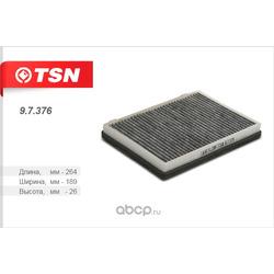 Фильтр салона угольный (TSN) 97376
