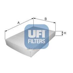 Фильтр, воздух во внутренном пространстве (UFI) 5314600