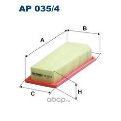 Фильтр воздушный Filtron (Filtron) AP0354