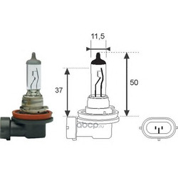 Лампа накаливания, фара дальнего света (MAGNETI MARELLI) 002547100000