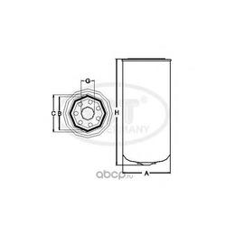 Топливный фильтр (SCT) ST349