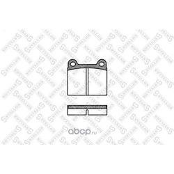 Комплект тормозных колодок, дисковый тормоз (Stellox) 017000SX