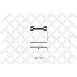 Комплект тормозных колодок, дисковый тормоз (Stellox) 017060SX