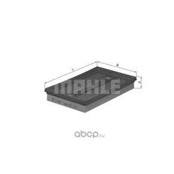 Воздушный фильтр (Mahle/Knecht) LX350