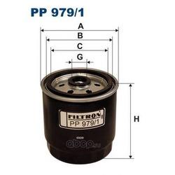 Фильтр топливный Filtron (Filtron) PP9791
