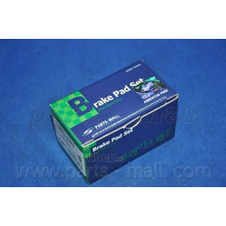 Комплект тормозных колодок (Parts-Mall) PKC002