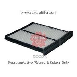 Фильтр салона комплект (Sakura) CA1001