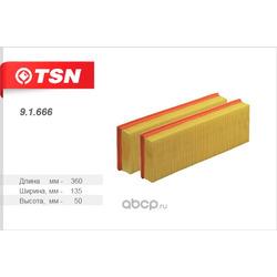 Фильтр воздушный (комплект 2 штуки) (TSN) 91666