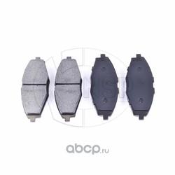 Колодки тормозные передние DAEWOO Matiz (NSP) NSP0196273708