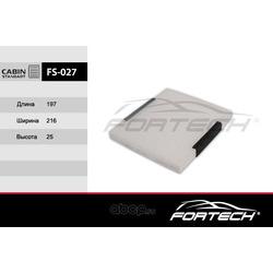 Фильтр салонный (Fortech) FS027