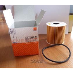 Масляный фильтр (Mahle/Knecht) OX3392DECO