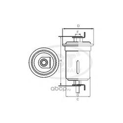 Топливный фильтр (SCT) ST728