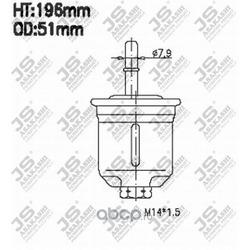 Фильтр топливный (JS Asakashi) FS3202