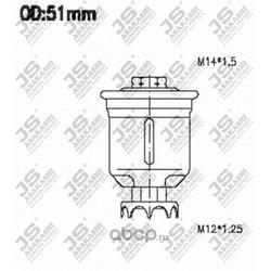 Топливный фильтр (MITSUBISHI) MR204132