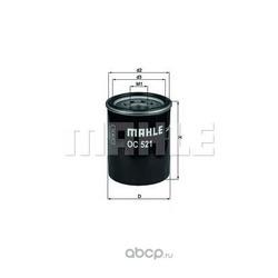 Масляный фильтр (Mahle/Knecht) OC521