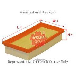 Фильтр воздушный (Sakura) A1435